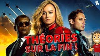 CAPTAIN MARVEL : ANALYSE et THÉORIES sur la FIN ! Avengers 4 ? Suite ?