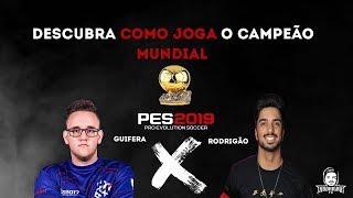 PES 2019 (GUIFERA) - DESCUBRA como joga o CAMPEÃO MUNDIAL GUIFERA