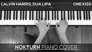 Calvin Harris, Dua Lipa - One Kiss (Piano Cover)