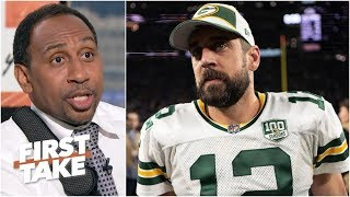 Aaron Rodgers has carried the Packers' organization on his back for years – Stephen A. | First Take