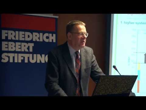 Dr. Felix Matthes – Öko-Institut, Berlin: - Status of the Energy transition of Germany
