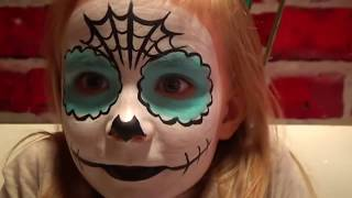 Аквагрим Николь на Хеллоуин или Halloween make up