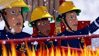Fireman Sam US New Episodes HD   Dashing through the Snow - Winter Saves! 🚒 🔥 Kids Cartoon