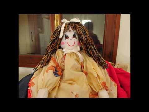 Le mie bamboline porta sacchetti youtube - Porta sacchetti ...