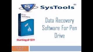 SysTools Pen Drive Recovery Software