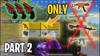 Drop Weapons ONLY (PART 2) | PUBG Mobile
