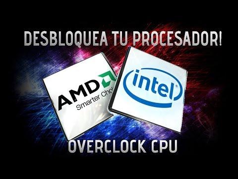 Como desbloquear al 100% tu PROCESADOR | DESBLOQUEA CUALQUIER PROCESADOR | OVERCLOKING CPU