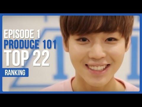 Produce 101 Season 2 EP.1 Official Ranking | TOP 22