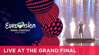 Isaiah - Don't Come Easy (Australia) LIVE at the Grand Final of the 2017 Eurovision Song Contest