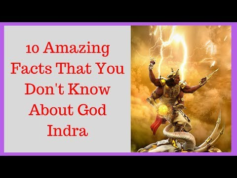 10 Things You Don't Know About God Indra