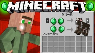 If Villagers Could Trade Mobs - Minecraft