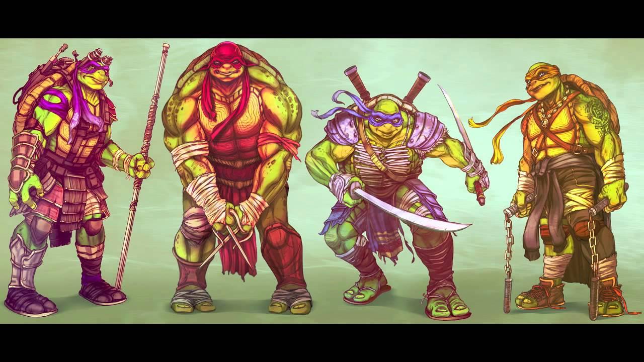 Ninja Turtles Super Bowl Trailer Music (2014) - YouTube