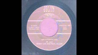 Wibby Lee & Paul Allan - Inflation Blues - Rockabilly 45