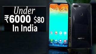 Top 5 Best Smartphone Under ₹ 6000 $80 In 2019