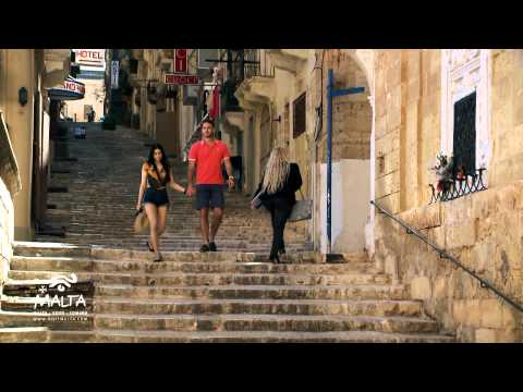 Walking in Valletta