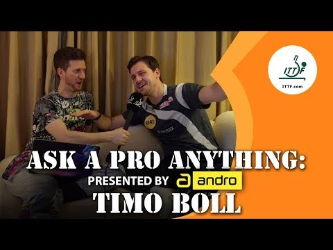 Timo Boll | Ask a Pro Anything presented by andro