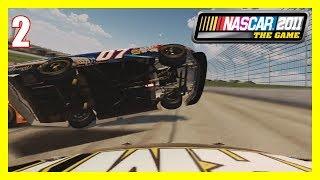 (Sheer Chaos) NASCAR 2011 The Game (Xbox 360) Career Mode Part #2