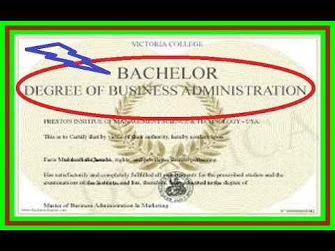What can i do with a business degree
