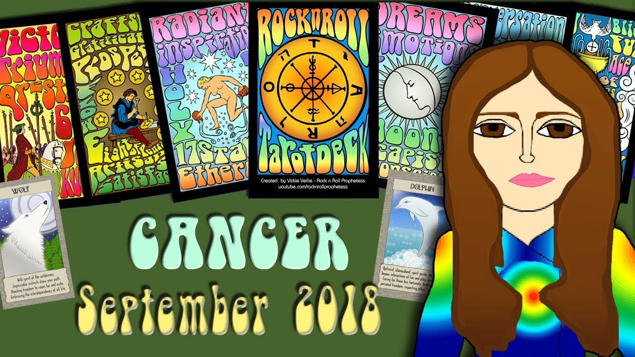 CANCER SEPTEMBER 2018 Smelling Like a Rose! Tarot psychic reading forecast  predictions