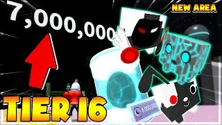 (UPDATE 🐾) ROBLOX | The AREA of NEW TECHNOLOGIES and the PET MACHINES TIER 16 | Pet Simulator