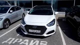 HYUNDAI i40 2.0 , 149,6 л.с. , 6 AT High tech 2016 Тест драйв