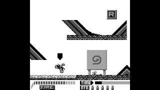 Game Boy Longplay [128] Motocross Maniacs
