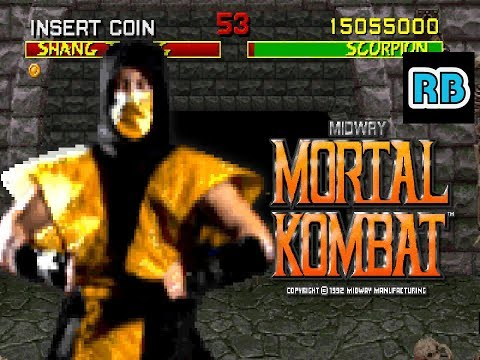1992 [53fps] Mortal Kombat 15055000pts Scorpion