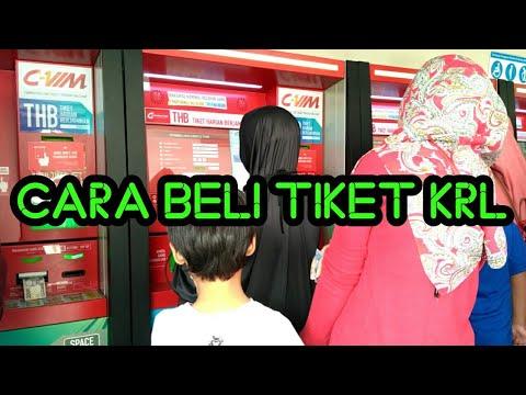 Cara Beli Tiket THB KRL Commuter Line Jabodetabek • Lengkap, Detail, Jelas •