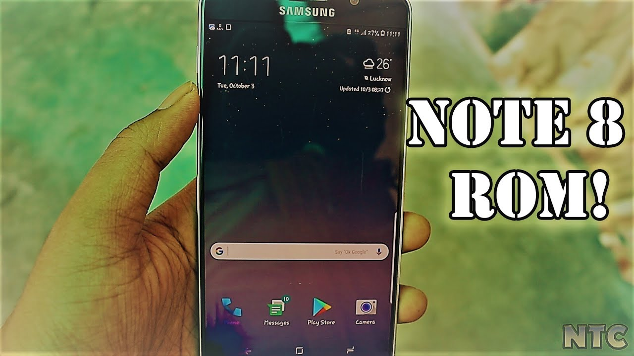 Samsung Galaxy Note 8 full port for Note 5(Khongloi Rom)!!