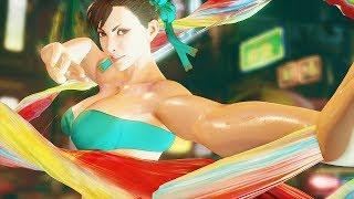 Street Fighter 5  mods Chun li swimwear over Karin