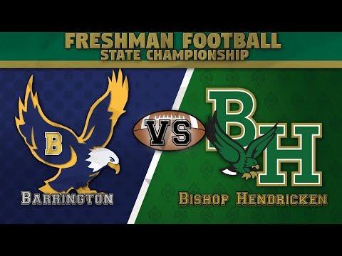 Bishop Hendricken High School vs. Eagles - Freshman Football State Championship