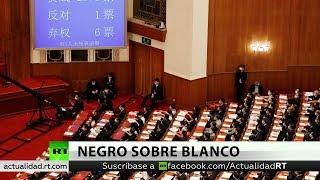 El Parlamento de Сhina aprueba la ley de seguridad para Hong Kong