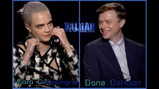 Cara Delevingne & Dane DeHaan's Message To The World To Get Along And Talk About Valerian