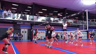 Emily Wilcox Volleyball Highlights - February 2018