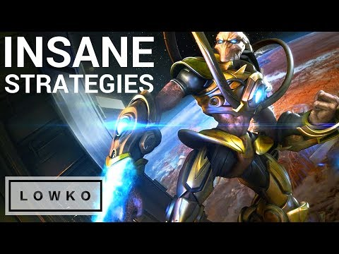 StarCraft 2: INSANE STRATEGIES! (Bo5)