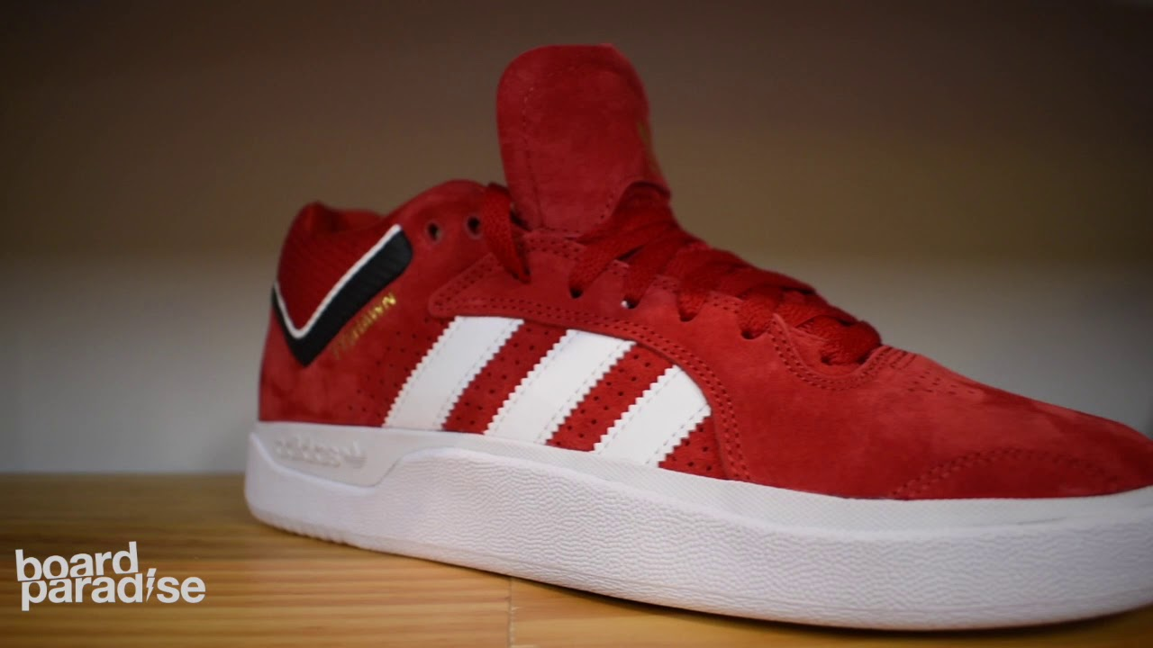 Adidas Tyshawn Shoe Review Scarlet