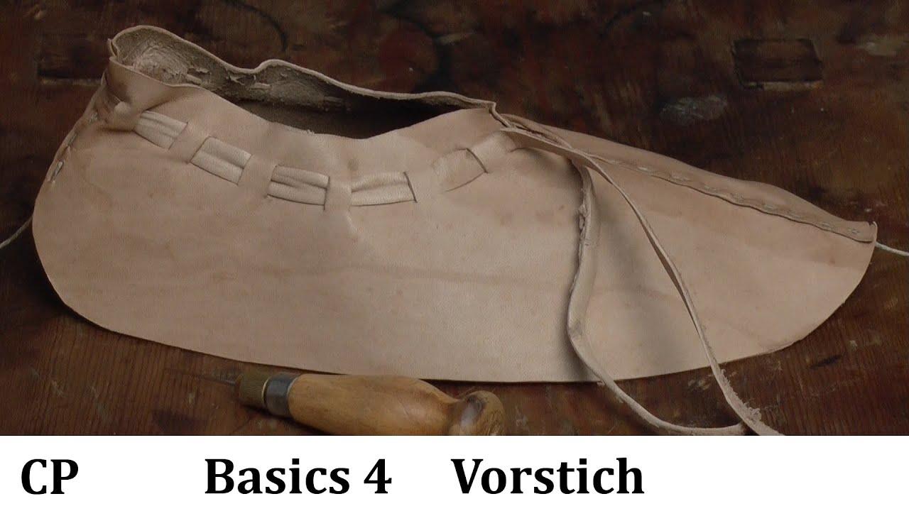 super popular a7914 d5d13 Basic#4 Der Vorstich CP mittelalter Schuhe selber machen mit Christian  Pohen und CP-Abenteuer