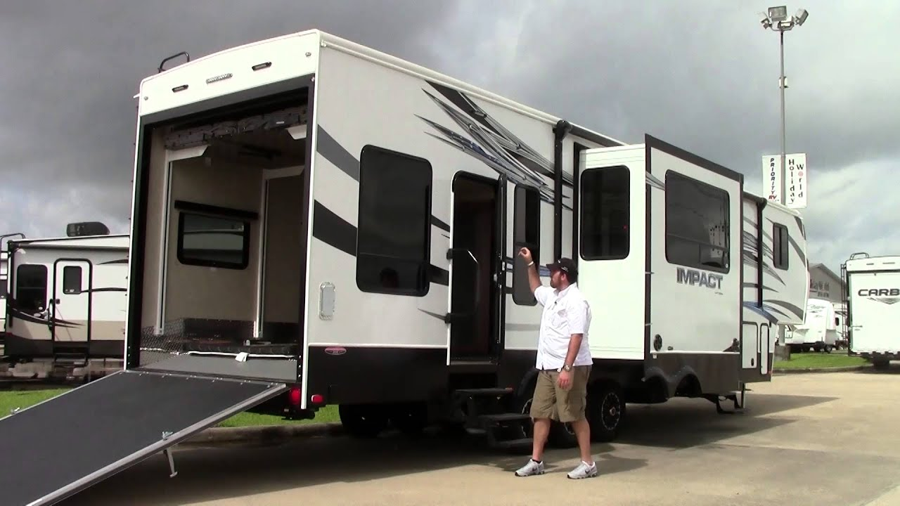 New 2015 Keystone Impact 386 Fifth Wheel Toy Hauler Rv