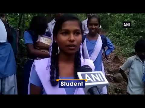 Students walk 8-km to reach school in Chhattisgarh's Balrampur due to lack of proper roads