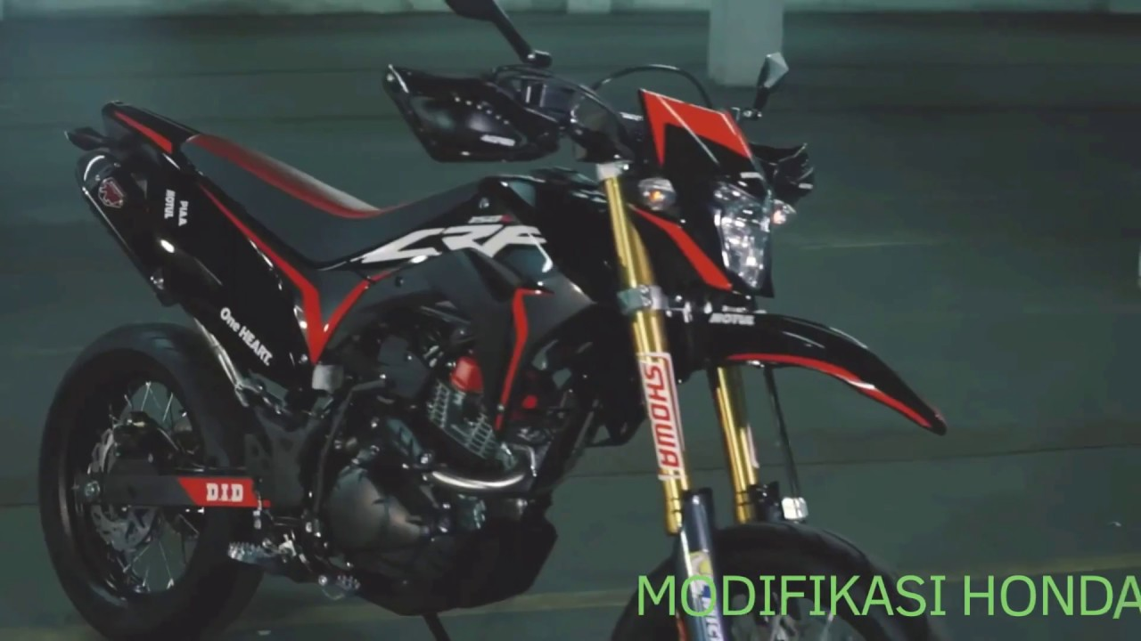 small resolution of modifikasi honda crf 150 l super motto