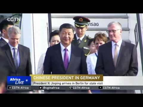 Chinese President in Germany: President Xi Jinping arrives in Berlin for state visit