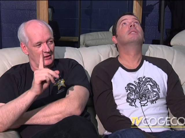 THE fidgets Interview Colin Mochrie Brad Sherwood Family Friendly Corporate Entertainment