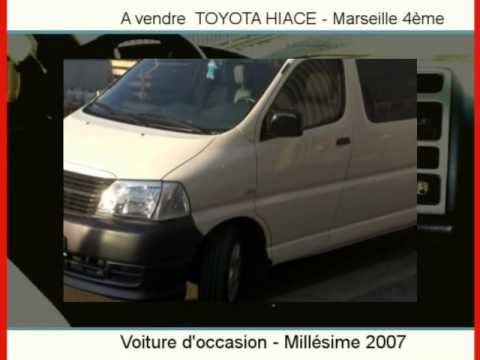 achat vente une toyota hiace marseille 4 me youtube. Black Bedroom Furniture Sets. Home Design Ideas