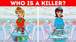POPULAR RIDDLES ON CRIME, IQ TESTS AND PICTURE PUZZLES WITH ANSWERS!