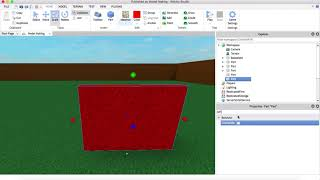 Roblox Studio - Walkthrough Walls