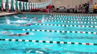 Jacob #DownSyndrome 2015-GMU Special Olympis Swim Meet