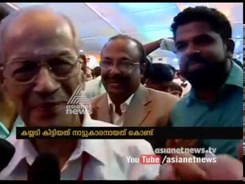 E. Sreedharan responses after Kochi Metro Inaguration
