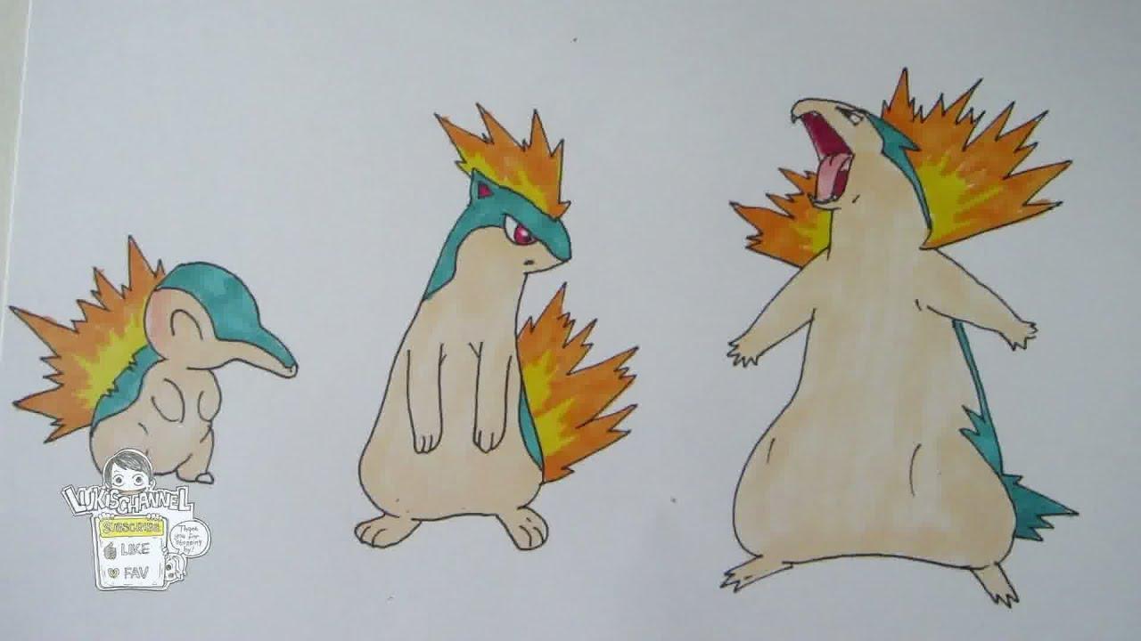 Quilava Pokemon Evolution