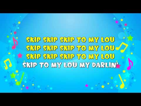 Skip to My Lou | Sing A Long | Skipping Song | Action Song | Nursery Rhyme | KiddieOK
