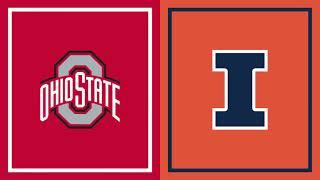 Illinois at <b>Ohio State</b>   B1G <b>Basketball</b>   First Half Highlights